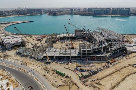 Miral's Yas Bay Arena in Abu Dhabi hits construction milestone