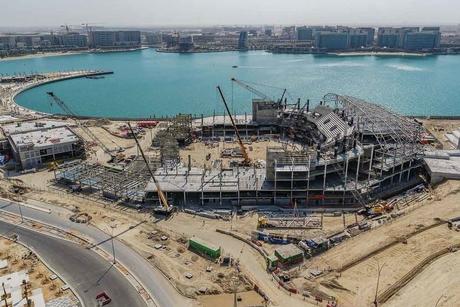 Miral's Yas Bay Arena in Abu Dhabi hits construction milestone