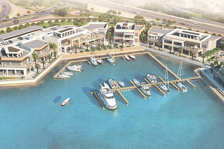 Phase 1 construction of Bahrain's Sa'ada in Muharraq 64% complete