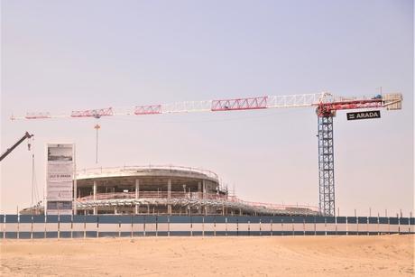 VIDEO: Construction progress at Arada's Aljada project in Sharjah
