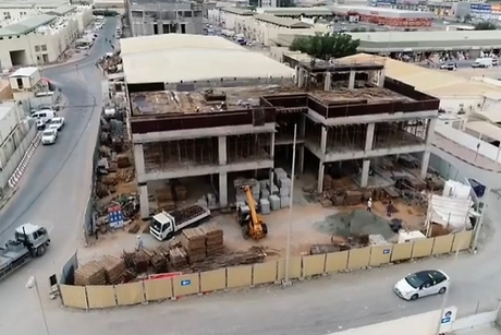 Construction of Ajman's 'green' Central Lab Building 40% complete