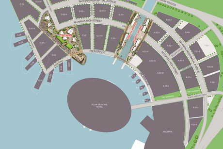 Bahrain Bay's The Park, The Wharf projects nearing completion