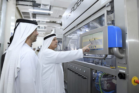AI machine to produce RTA number plate every 15 seconds in Dubai