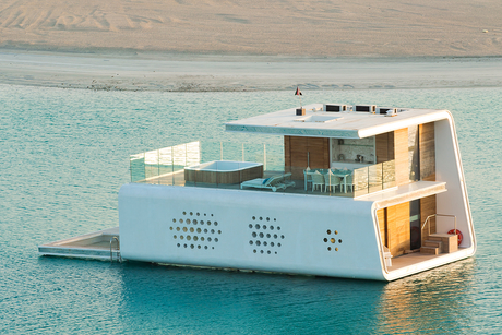 How JK Bauen, Kleindienst are building Dubai's Floating Seahorse Villas