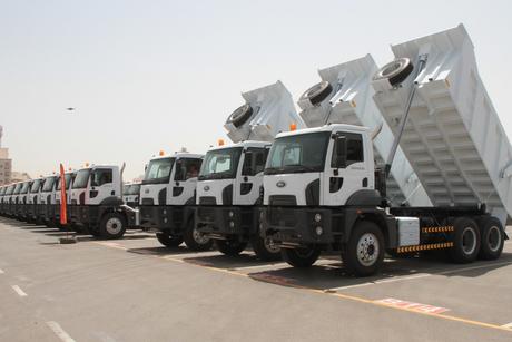 Ford Trucks units delivered to Saudi builder Saad Saaed Al-Saadi & Sons