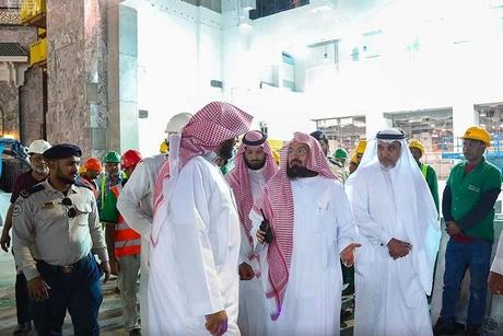 Ramadan deadline for gate works at Saudi's Makkah Grand Mosque