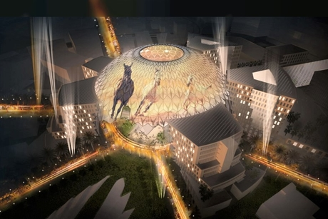 Expo 2020 Dubai's 130m Al Wasl Plaza set for Christie's visuals shows
