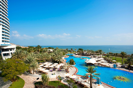 This resort in Fujairah, UAE is recycling water to save money