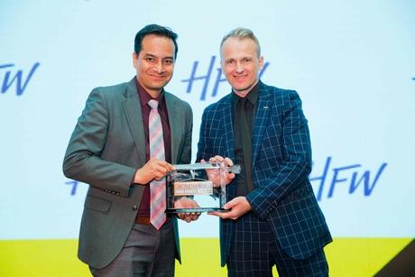 CW Oman Awards 2019: Voltas boss crowned top construction exec