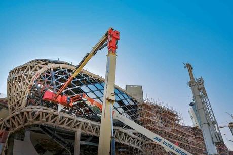 Project update: Riyadh Metro's KAFD station in Saudi Arabia