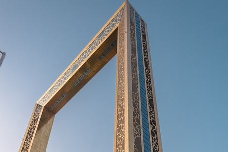 VIDEO: How the 150m Dubai Frame's windows are cleaned