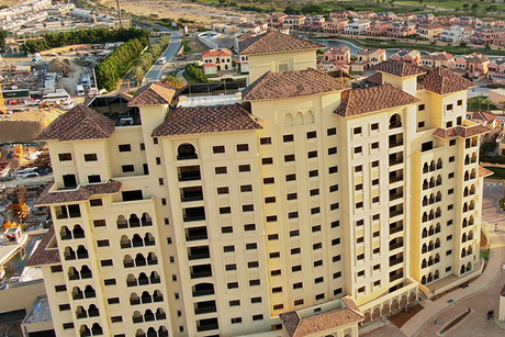 Andalus Towers A, B of Dubai's Jumeirah Golf Estates complete