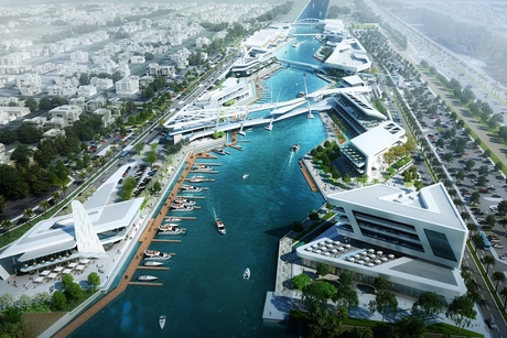 Abu Dhabi's waterfront leisure project Al Qana to open in Q4 2020