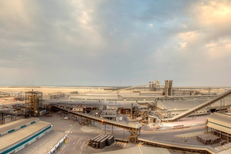 Progress at EGA's $3bn Al Taweelah alumina refinery in Abu Dhabi