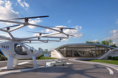 Volocopter to build vertical take-off hub for flying taxis in Singapore