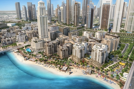 Emaar selects SSH for Dubai's Creek Beach District project