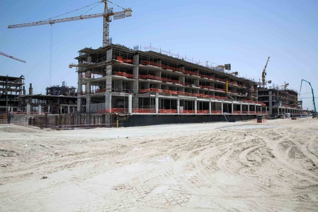 Pictures: Construction progresses on Dubai's $3.2bn Azizi Riviera