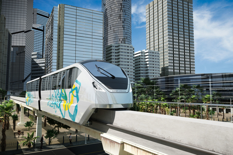 Orascom lays foundation stone on Egypt's Monorail with Bombardier