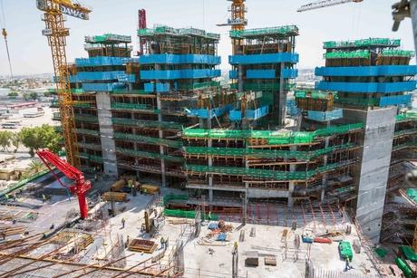 Pictures: CSCEC ME's construction works for Damac's Aykon City, Dubai