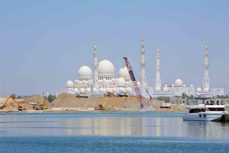 Construction site of Al Barakah's 2.4km Al Qana in Abu Dhabi