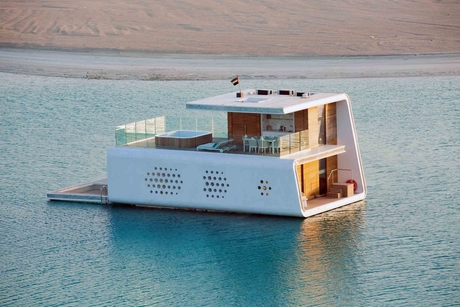 Pictures: The floating Seahorse Villas of Dubai's The Heart of Europe