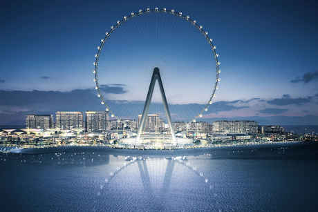 PICTURES: Mammoet completes its role in construction of Ain Dubai