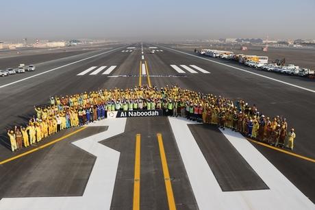 Al Naboodah completes revamp of Dubai airport DXB's runway