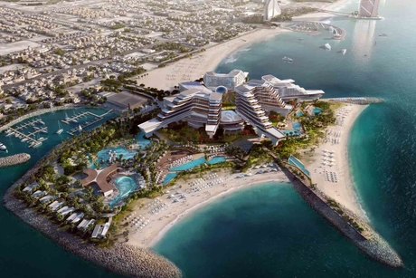 Work begins on Dubai's The Island, featuring MGM, Bellagio, Aria hotels