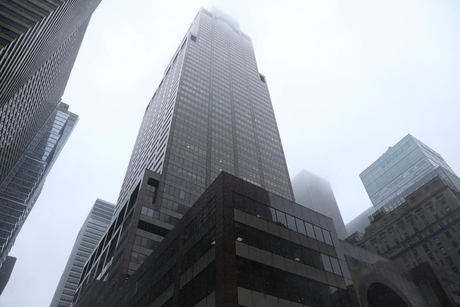 Helicopter crashes on 54-storey New York tower, starts fire
