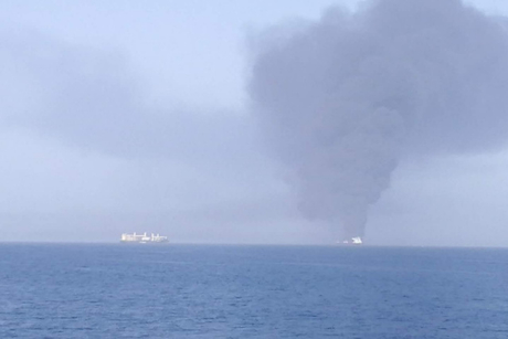 Oil tanker attack reportedly causes explosions in Gulf of Oman