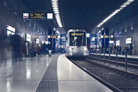 First underground train of Cairo Metro's Line 3 – Phase 4 flags off
