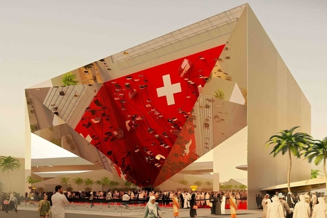 Construction begins on Expo 2020 Dubai's Swiss pavilion, Belle Vues