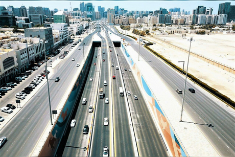 Sheikh Zayed bin Sultan Street in Abu Dhabi upgraded by Musanada