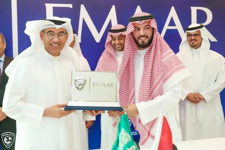 Saudi's Al Hilal FC joins Emaar, amends Kingdom Holding deal
