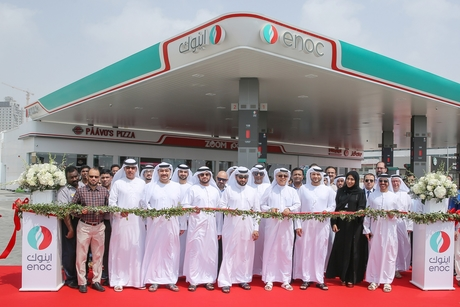 Fujairah's LED- and VRF-powered Al Faseel Enoc fuel station opens