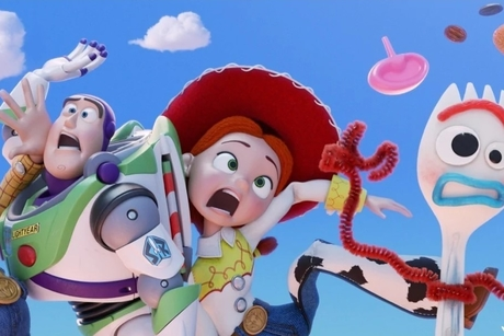Dubai Airports recycling plan brings Toy Story 4's Forky to DXB airport