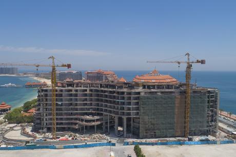 Construction reaches 61% at Mina by Azizi on Dubai's Palm Jumeirah