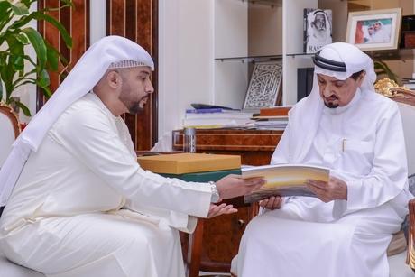 Ajman Ruler, Crown Prince receive Masfout, Al Manama growth plan