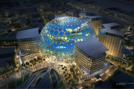 Expo 2020 Dubai's Al Wasl Plaza dome to top out by end-August 2019