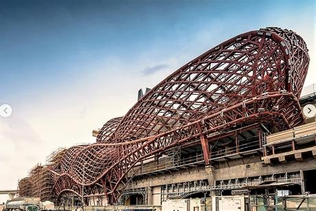 Zaha Hadid Architects' new pictures of Riyadh Metro's KAFD Station