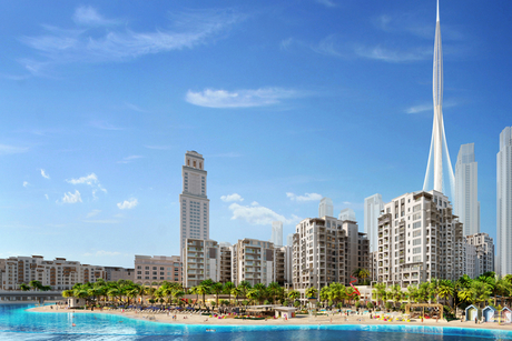 SSH: Work to start soon on Emaar's first Creek Beach District homes