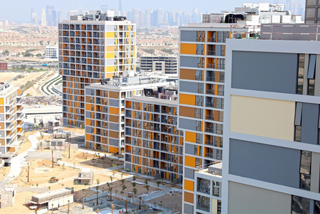 Progress on Deyaar's Afnan, Dania at Midtown in Dubai Production City