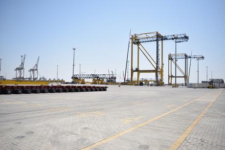 Saudi Arabia's King Abdullah Port receives 28 Liebherr cranes