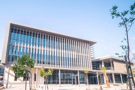 Nass's work on American University of Bahrain campus 95% complete