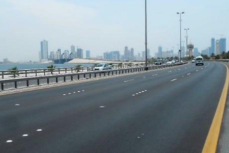 Maintenance of Sheikh Khalifa Bin Salman Causeway completed