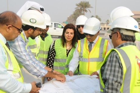 Bahrain International Airport entrance roads 81% complete