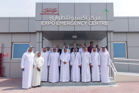 DHA director-general inspects Expo 2020 Dubai Emergency Centre