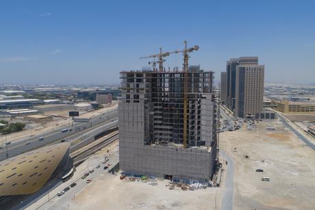 Azizi marks 60% completion on Jebel Ali's Aura-branded homes