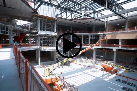 VIDEO: Construction progress of Khansaheb, Viva City's Sport Society