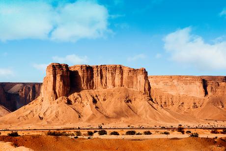 PICTURES: The site of Saudi Arabia's Qiddiya entertainment city